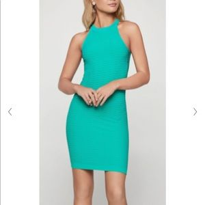 Sleeveless Bodycon Racerback Dress